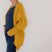 Gilet jaune moutarde XXL_05
