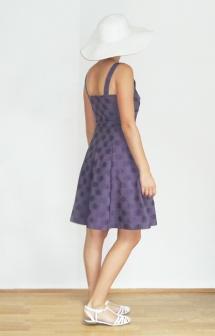 Robe violette_Plage3