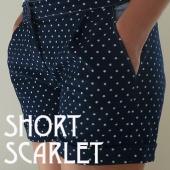 Short Scarlet accueil