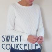 Sweat Blanc Accueil