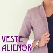 Veste Rose chale - Alienor - Accueil