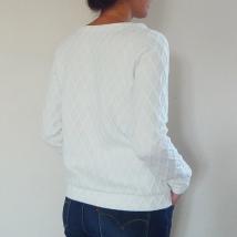 Sweat Blanc - Dos 1