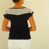 Tee-shirt liberty-noir dos