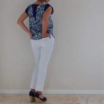 Haut et jeans dos