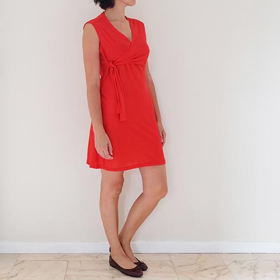 Robe rouge 01