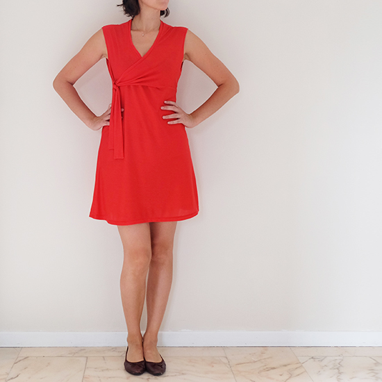 Robe rouge 05