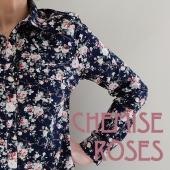 Chemise à roses Accueil