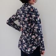 Chemise à roses dos 02