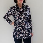Chemise à roses face 01