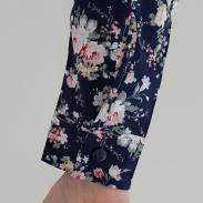 Poignet Chemise à roses